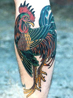 Astrology Tattoos on Rooster Tattoo Designs Chinese Astrology Symbols Leg Tattoos