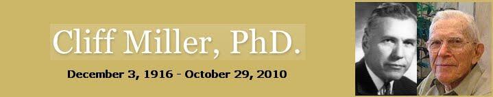Cliff Miller, PhD.