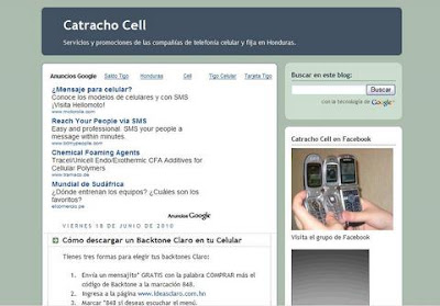 Catracho Cell blog