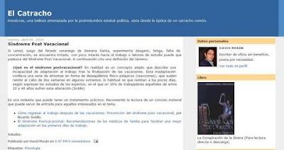 El Catracho blog
