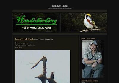 Hondubirding blog