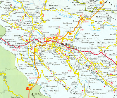 Aquila Italy Map.Gis Research And Map Collection Italy Maps Available From Ball