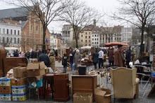 Flea Market in Belgium