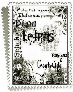 SELO__ BLOG LETRAS_ formas e conteúdos