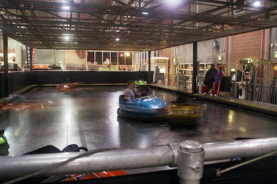 Bumper cars at Seattle Center. photo David Lindes.