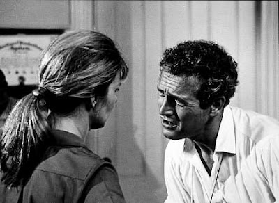 Paul Newman directs wife and star Joanne Woodward to Oscar nomination. Rachel, Rachel. 1968. photo Warner Brothers.