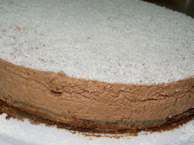 Tarta de queso y chocolate Bifinett