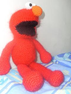 Elmo crochet pattern | Patterns | Pinterest