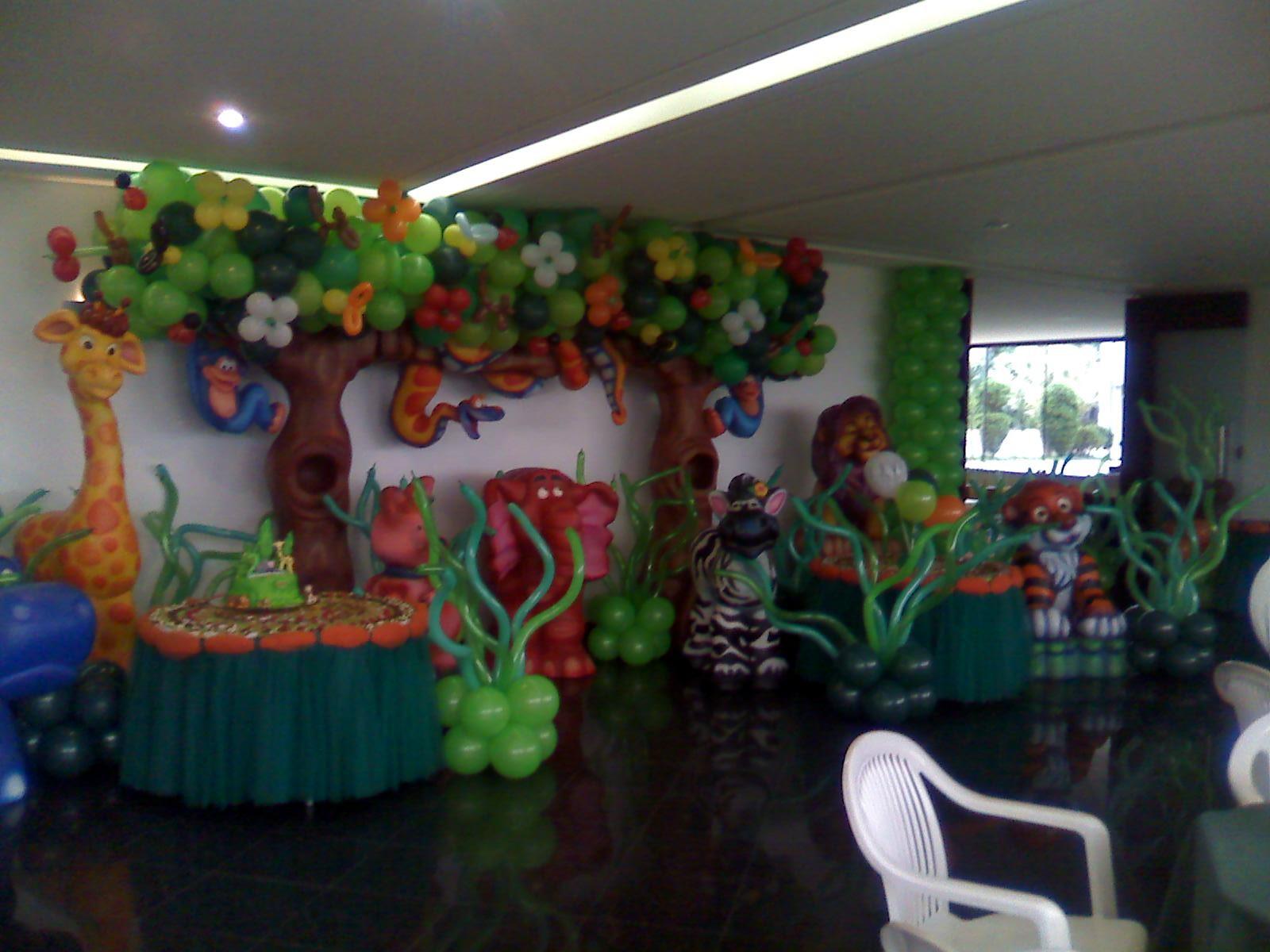 Decora    O   Bal  Es Festas Personalizadas