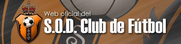 Web Oficial del S.O.D. Club de Futbol