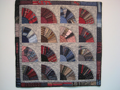 Mens tie quilt pattern - Quilting Board