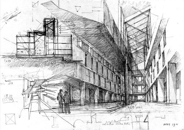 Tecnicas para dibujar como un dios rapido y sencillo for Arquitectura en linea