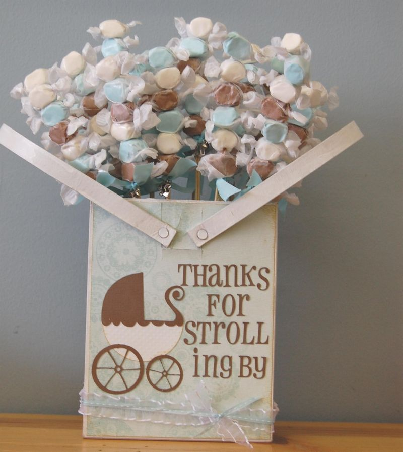 Edible Baby Shower Favors To Make Yourself ~ Diycelebrations candy skewers it doesn t get any better