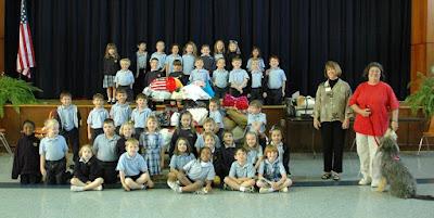 Kindergarten Donates to Montgomery Humane Society 1