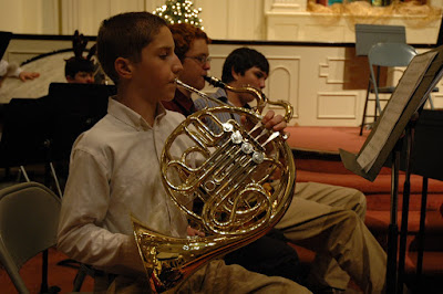 Montgomery Catholic Band Conducts 4th Annual Christmas Concert 1