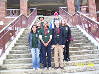 Montgomery Catholic Science Olympiad Team wins at Regional High School Competition 1