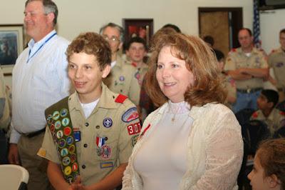 Montgomery Catholic's Yost Earns Eagle Scout Designation 1