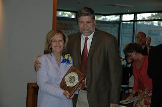 Nora Cammack Named 2007 Charlie Harbin Distinguished Service Award Winner 2