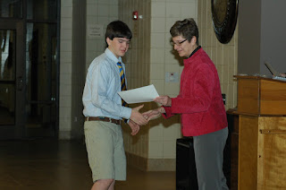 Montgomery Catholic Honors Middle School Top Students 1