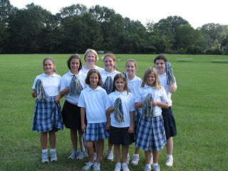 Sixth Grade Girl Scouts Work on Communications Badge 1