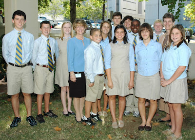 Montgomery Catholic Students Attend 35th Annual Red Mass 1