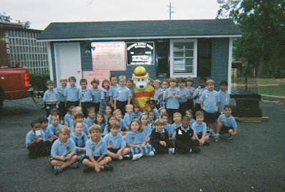 Kindergarten Learns Fire Safety 1