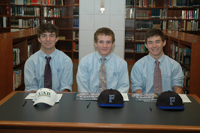 Three Montgomery Catholic Athletes Sign National Letters of Intent 1