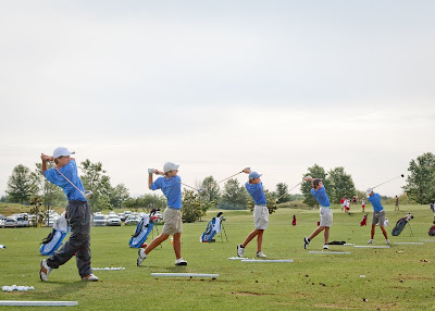 Knights Finish Second in State Golf Tourney 2