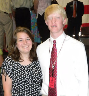 Bradley and Norris Represent Montgomery Catholic at HOBY Leadership Conference 1