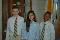 Montgomery Catholic Elects Middle School SGA Officers for 2010-2011 2