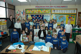 Third Grade Makes the Season Bright for MHA 1