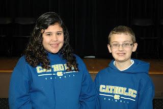 Vazquez to Represent Montgomery Catholic at County Spelling Bee 1