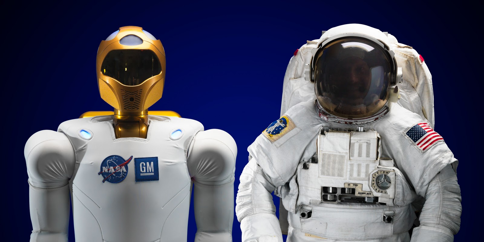 None of your Driggsness: NASA's humanoid robot