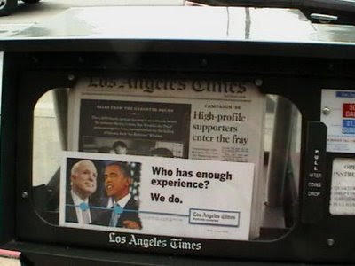 Los Angeles Times Experience Ad