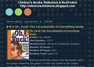Book-Oh Yuck, the Encyclopedia of Everything Nasty