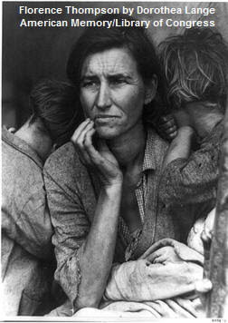Florence Thompson by Dorothea Lange