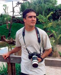 O Fotógrafo Geiser Trivelato em ação.