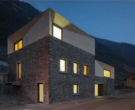 Linea di sezione casa svizzera for Aggiungere piani casa