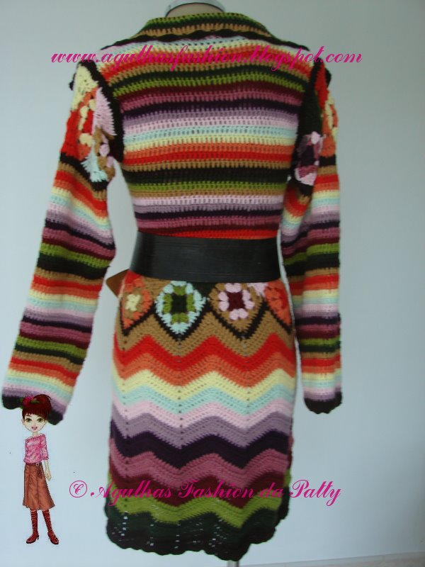 Crochet الكروشية و جاكيت كروشية طويل مع البترون.التلوين بالكروشية.جاكتات كروشية للصبا casaconulticolorido2