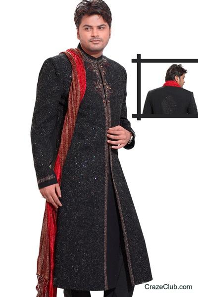 Sherwani Mens Collections_Pakistani Men Fashion