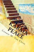 My first novel, KARMA PEACE, is available for order NOW! (Just click the bookcover!)