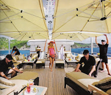 YACHT CHARTER IBIZA PARIS HILTON IN IBIZA ON MEGA YACHT