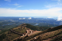 From the Summit of Pikes Peak