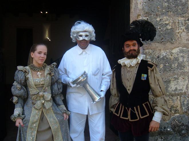 Ponce de Leon y su esposa - 8 de abril 2010.