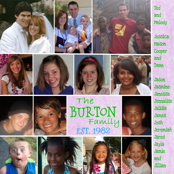 The Burton Family