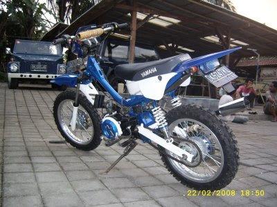 Modif Yamaha Fizr Jadi Trail