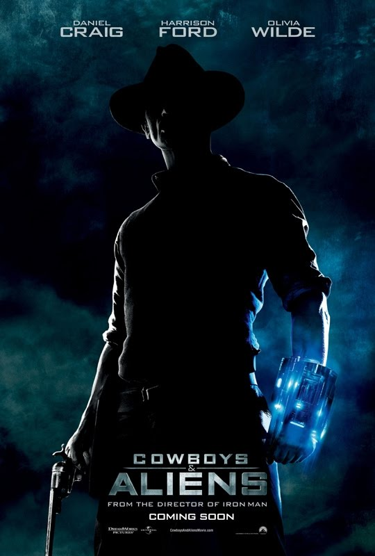 Here's the movie trailer of cowboys and aliens if you haven't seen