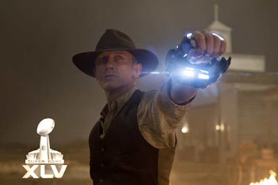 Cowboys and Aliens Tráiler Super Bowl