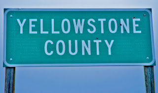 Yellowstone County Sign