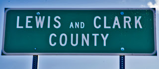 Lewis & Clark County Sign